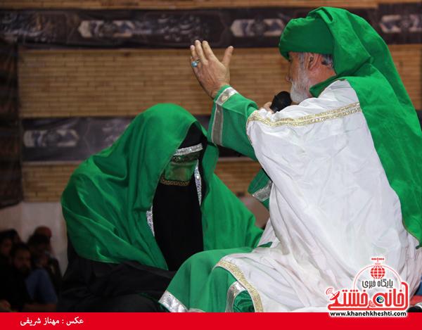 هیئت متوسلین حضرت علی اکبر (ع) رفسنحان-خانه خشتی (۳)