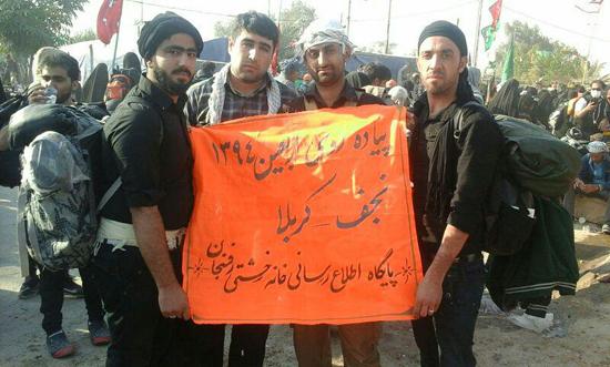 سوژه های راهپیمایی زوار اربعین حسینی در قاب دوربین خانه خشتی