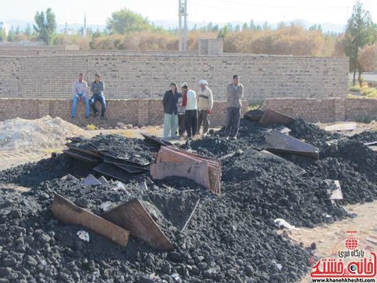 کشف ۴۵ تن مس سرقتی به ارزش ۱۰ میلیارد در رفسنجان -خانه خشتی (۱)
