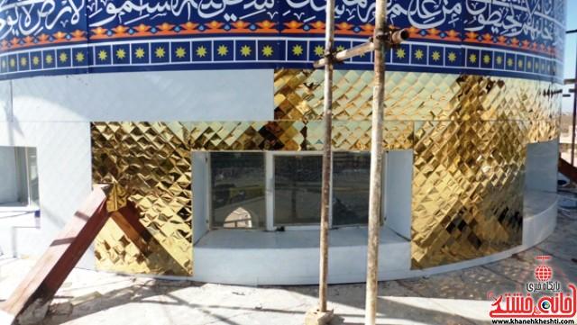 گنبد و حرم شهدای هرمزآباد رفسنجان (۵)