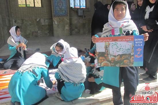 یوم الله ۱۳ ابان در رفسنجان-خانه خشتی (۲۰)