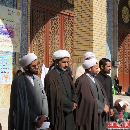 یوم الله ۱۳ ابان در رفسنجان-خانه خشتی (۳)