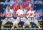 طرح آموزش رایگان کاراته سبک شوتوکان (ski) در رفسنجان