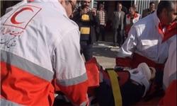 مانور زلزله در رفسنجان برگزار شد