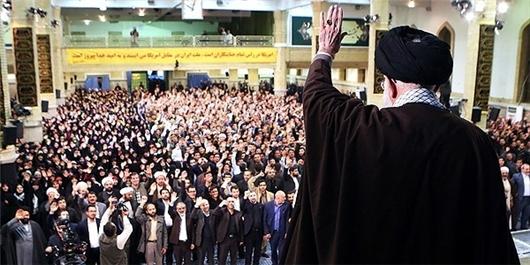 هزاران نفر از دانشجویان و دانشآموزان با رهبر انقلاب دیدار کردند