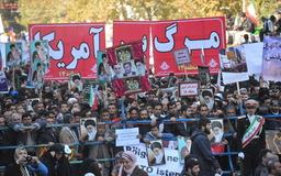 """فریاد """"مرگ بر آمریکا"""" دانش آموزان و دانشجویان در رفسنجان طنین انداز شد / تصاویر"""