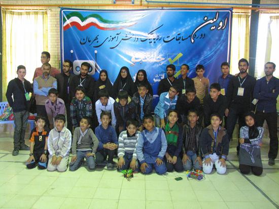 اولین دوره مسابقات روباتیک دانش آموزی منطقه نوق در بهرمان برگزار شد/ تصاویر