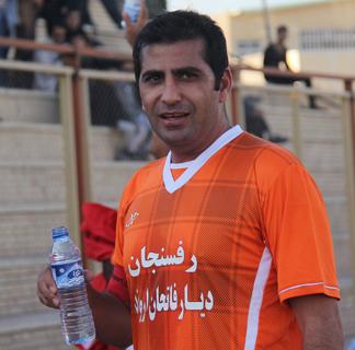 پیام تشکر فوتبالیست رفسنجانی از مردم