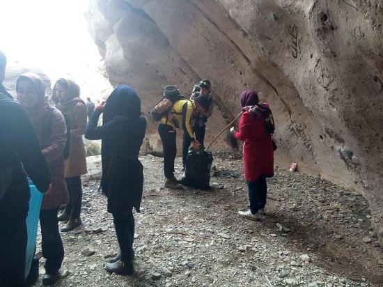 بازدید از دره راگه رفسنجان-خانه خشتی (۱)