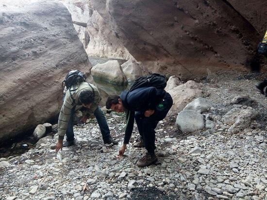 بازدید از دره راگه رفسنجان-خانه خشتی (۲)