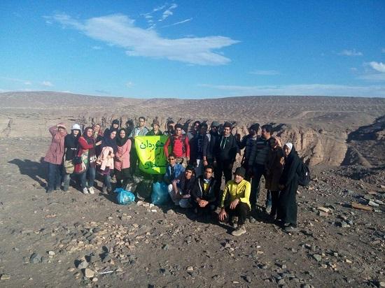 تصاویر / بازدید دره راگه توسط گروه کوهنوردی البرز رفسنجان