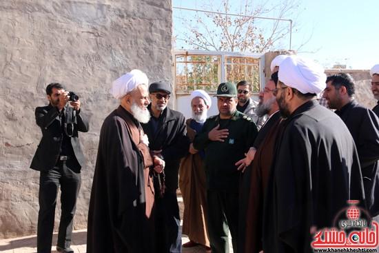 بازدید ایت الله خاتمی از منزل حجت السلام غروی  (۱)