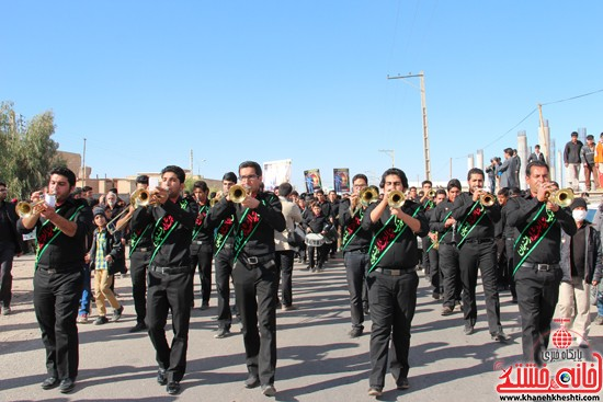 تشییع پیکر پاک شهید مدافع حرم رفسنجان (۱۰)