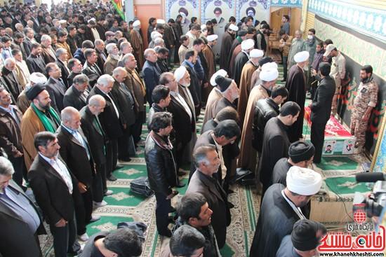 تشییع پیکر پاک شهید مدافع حرم رفسنجان (۲)