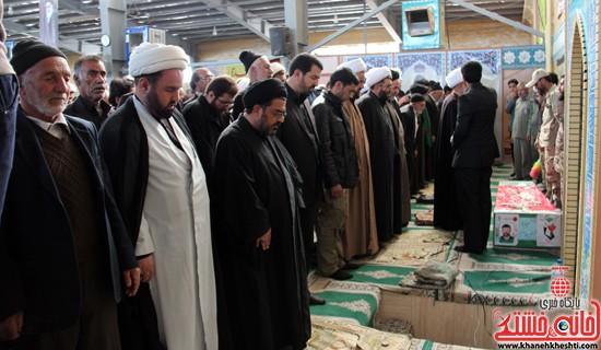 تشییع پیکر پاک شهید مدافع حرم رفسنجان (۳)