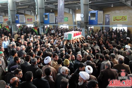 تشییع پیکر پاک شهید مدافع حرم رفسنجان (۵)