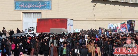 تشییع پیکر پاک شهید مدافع حرم رفسنجان (۷)