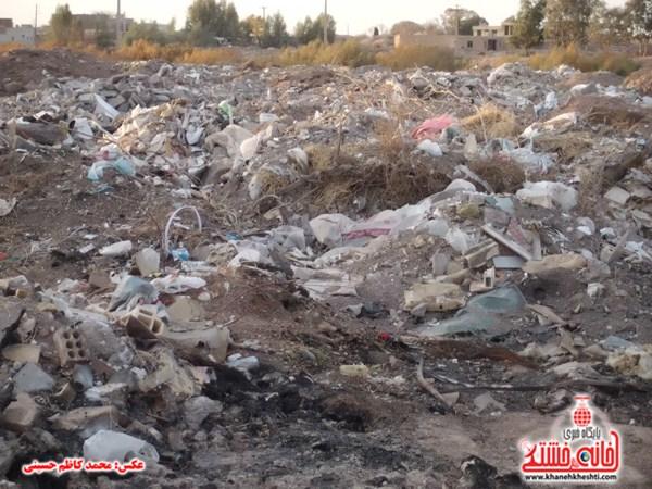 خانه خشتی.زباله های ساختمانی (۱۸)