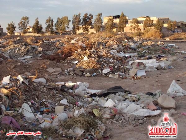 خانه خشتی.زباله های ساختمانی (۲۱)
