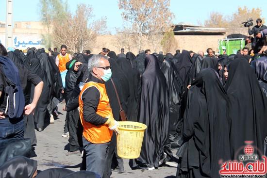رفتگران طبیعت در پیاده روی اربعین حسینی رفسنجان (۳)
