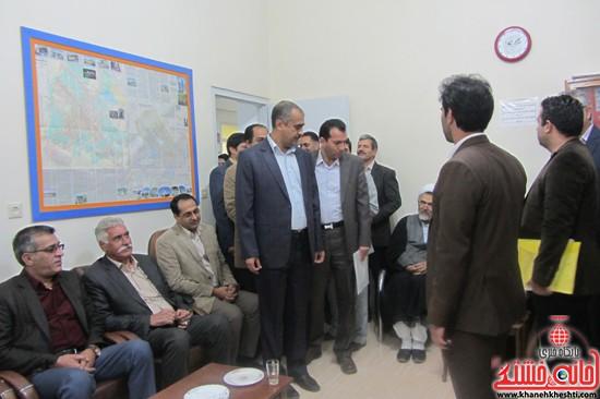 ششمین روز ثبت نام داوطلبین مجلس در رفسنجان-خانهخشتی (۸)