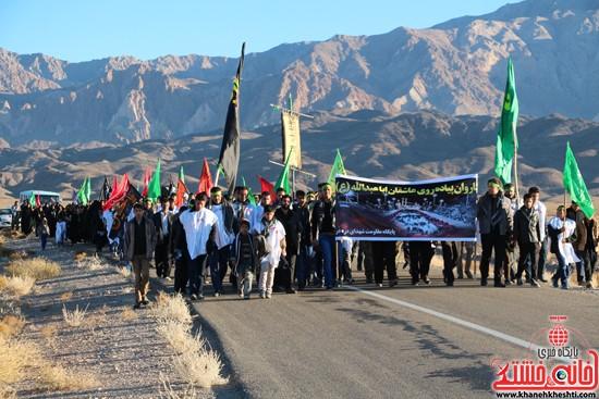 مراسم روز اربعین دره در رفسنجان-خانه خشتی (۱)
