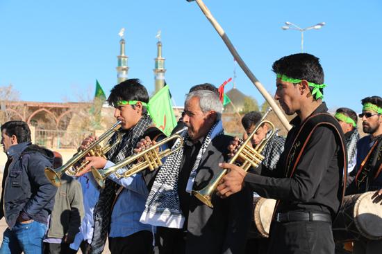 گزارشی تصویری از مراسم ویژه روز اربعین در روستای دره در رفسنجان