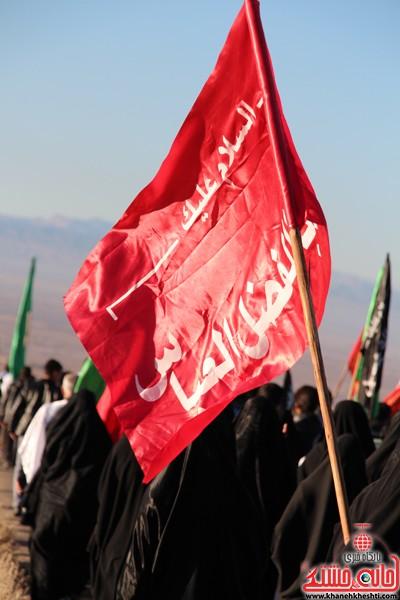 مراسم روز اربعین دره در رفسنجان-خانه خشتی (۳)