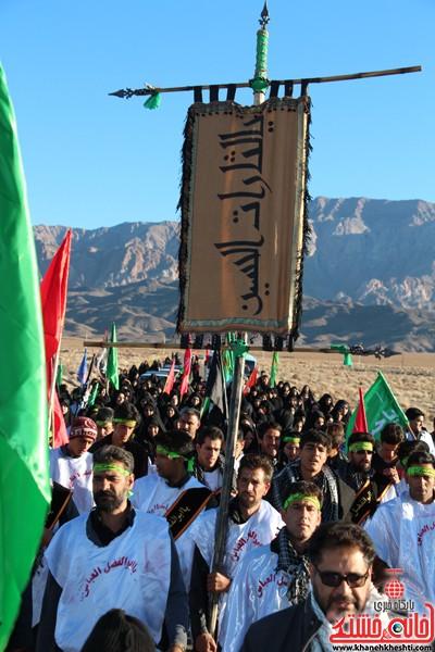 مراسم روز اربعین دره در رفسنجان-خانه خشتی (۵)
