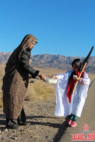مراسم روز اربعین دره در رفسنجان-خانه خشتی (۹)