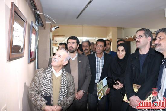 نمایشگاه آثار خوشنویسان ایران در رفسنجان-خانه خشتی (۱۲)