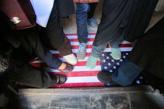 نمایشگاه استکبار ستیزی ۱۶ آذر در رفسنجان برپا شد / تصاویر