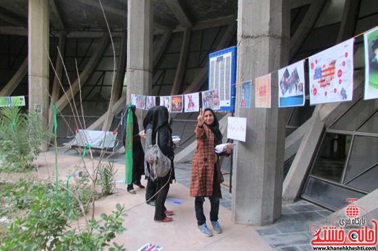 نمایشگاه استکبار ستیزی -رفسنجان-خانه خشتی (۱۸)