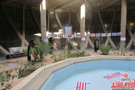 نمایشگاه استکبار ستیزی -رفسنجان-خانه خشتی (۲)