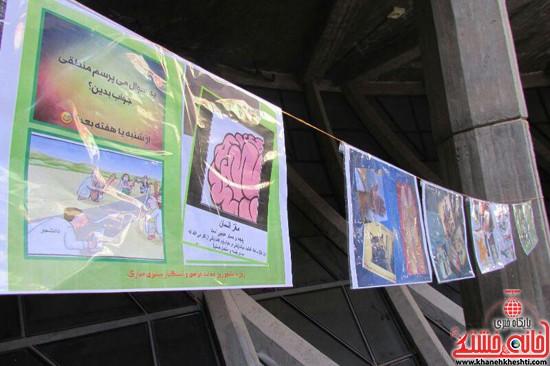 نمایشگاه استکبار ستیزی -رفسنجان-خانه خشتی (۸)
