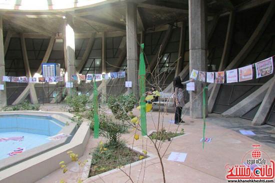 نمایشگاه استکبار ستیزی -رفسنجان-خانه خشتی (۹)