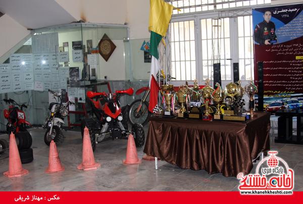 نمایشگاه دستاوردهای علمی قهرمانان دانشگاه آزاد رفسنجان-خانه خشتی (۱)