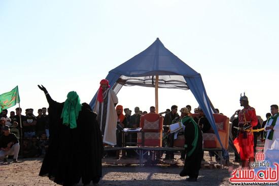 هیئت تعزیه خوانی علمدار کربلا تعزیه بازار شام و شهادت حضرت رقیه در رفسنجان (۱۵)