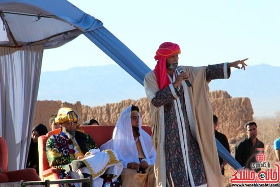 هیئت تعزیه خوانی علمدار کربلا تعزیه بازار شام و شهادت حضرت رقیه در رفسنجان (۲)