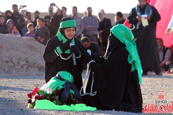 هیئت تعزیه خوانی علمدار کربلا تعزیه بازار شام و شهادت حضرت رقیه در رفسنجان (۲۳)
