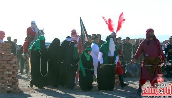 هیئت تعزیه خوانی علمدار کربلا تعزیه بازار شام و شهادت حضرت رقیه در رفسنجان (۳)