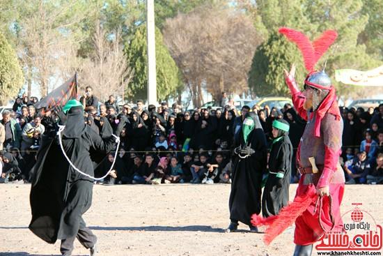 هیئت تعزیه خوانی علمدار کربلا تعزیه بازار شام و شهادت حضرت رقیه در رفسنجان (۸)