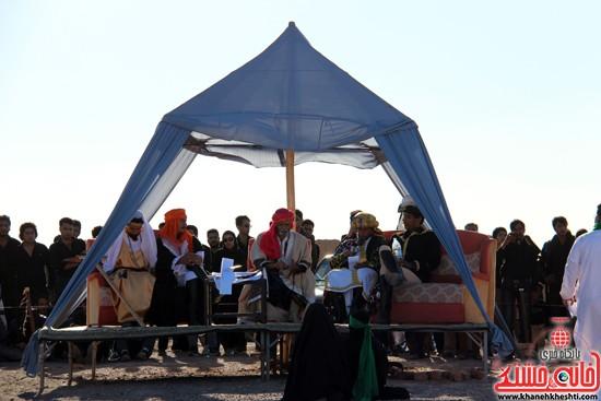 هیئت تعزیه خوانی علمدار کربلا تعزیه بازار شام و شهادت حضرت رقیه در رفسنجان (۹)