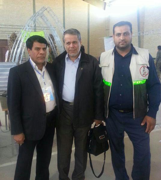 ویزیت رایگان بیش از ۳ هزار نفر در بیمارستان صحرایی عرب آباد رفسنجان-خانه خشتی (۱)