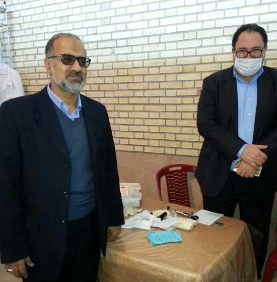 ویزیت رایگان بیش از ۳ هزار نفر در بیمارستان صحرایی عرب آباد رفسنجان-خانه خشتی (۴)