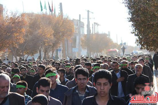 پیاده روی اربعین حسینی با حضور کاروان رهپویان کربلا در رفسنجان (۱۱)