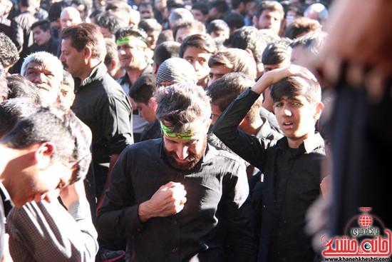 پیاده روی اربعین حسینی با حضور کاروان رهپویان کربلا در رفسنجان (۳۴)