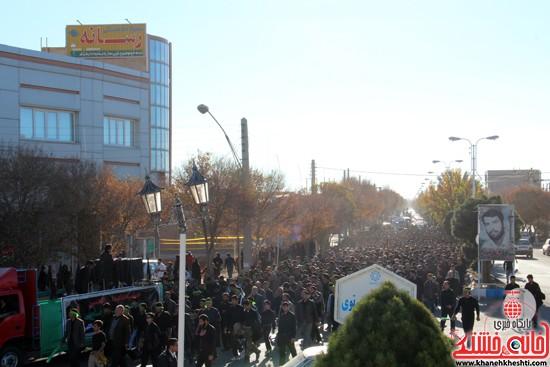 پیاده روی اربعین حسینی با حضور کاروان رهپویان کربلا در رفسنجان (۵)