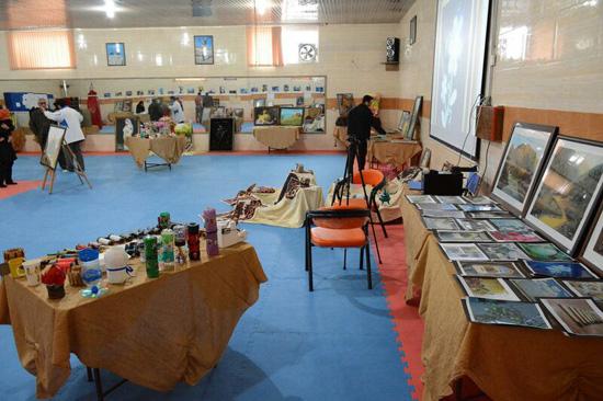 پنجمین نمایشگاه آثار فرهنگی و هنری انجمن کانگ فو توآ ۲۱ منطقه جنوب شرق کشور در رفسنجان برگزار شد+عکس