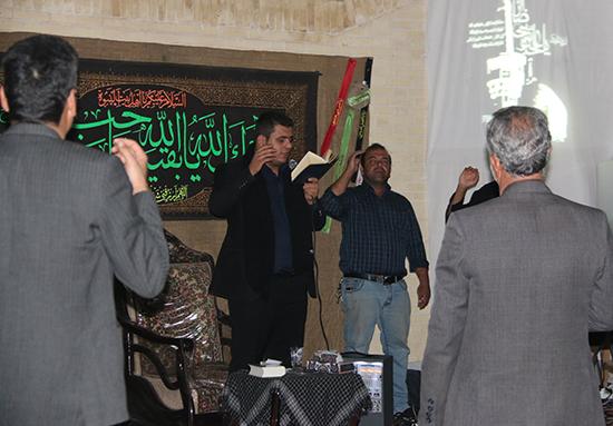مراسم عزاداری شهادت امام رضا(ع) در رفسنجان برگزار شد+عکس